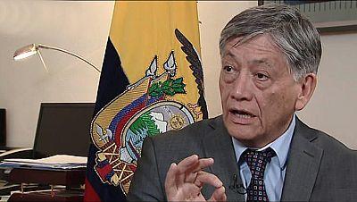 """El embajador de Ecuador en España: """"Hay un interés mayor de mantenerse ligados con Ecuador"""