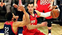 Los españoles Willy Hernangómez y Alex Abrines se han estrenado  con triunfo en un All Star de la NBA al imponerse con el combinado  del resto del mundo al equipo de jugadores estadounidenses (150-141)  en el Rising Stars Challenge, con el que ha dad