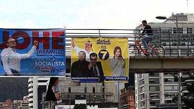 Jornada de reflexión en Ecuador donde se celebrarán elecciones presidenciales