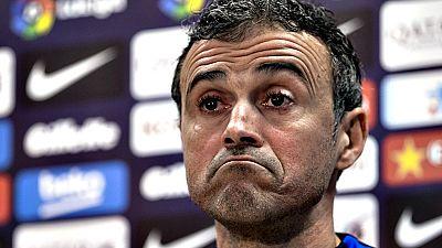 """El entrenador del Barcelona, Luis Enrique Martínez, ha asegurado que los resultados que se produzcan con vistas a lo que queda de temporada """"no tiene nada que ver con la decisión"""" de continuar en el banquillo azulgrana."""