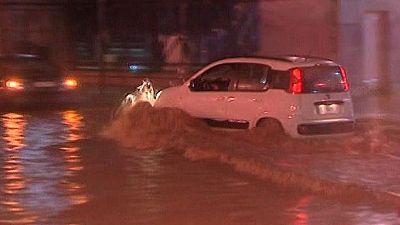 La lluvia ocasiona 200 incidencias en Málaga y deja 130 litros por metro cuadrado en la capital