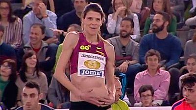 Ruth Beitia se proclama campeona de España