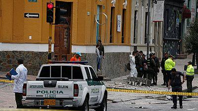 Un policía muerto y al menos 30 heridos en una explosión en Bogotá