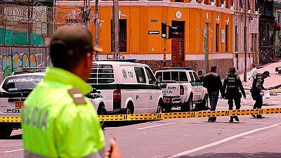 Al menos 30 heridos en una explosión en el centro de Bogotá