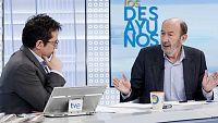 Los desayunos de TVE - Alfredo Pérez Rubalcaba, exsecretario general del PSOE - ver ahora