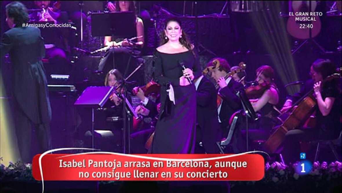 Concierto de Isabel Pantoja en Barcelona