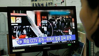 El asesinato de King Jong-nam, a través de las cámaras del aeropuerto de Kuala Lumpur