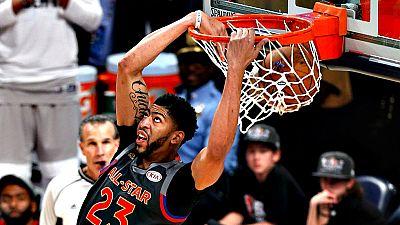 Con 52 puntos, el jugador de los New Orleans Pelicans logró superar la marca de Wilt Chamberlain como máximo anotador en un encuentro de All Star.