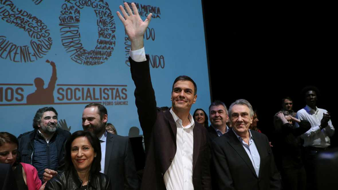 Pedro Sánchez presenta su proyecto para volver a liderar el PSOE