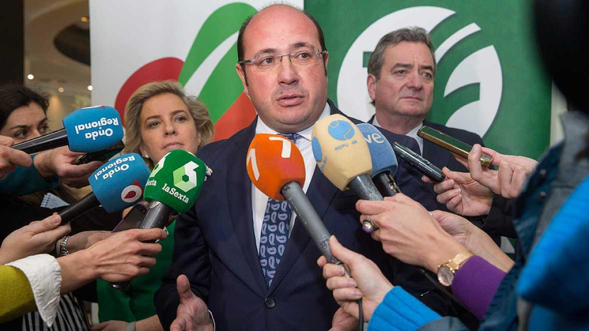 Resultado de imagen de El presidente de Murcia no dimitirá