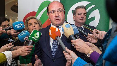 Ciudadanos pide la dimisión del presidente de Murcia tras su imputación en el 'caso Auditorio'