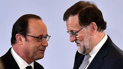 Hollande invita a Rajoy a una cumbre en Versalles con Alemania e Italia