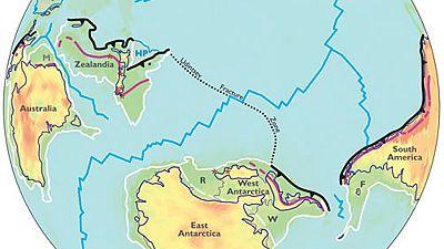 Zelandia, un nuevo continente sumergido en el océano Pacífico