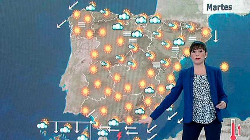 Avisos por viento y oleaje en el Estrecho y costa oriental andaluza y lluvias en Canarias