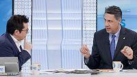 Los desayunos de TVE - Xavier García Albiol y Pedro Horrach - ver ahora