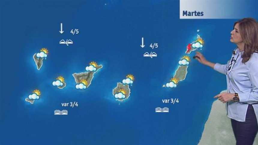 El tiempo  en Canarias - 21/02/2017