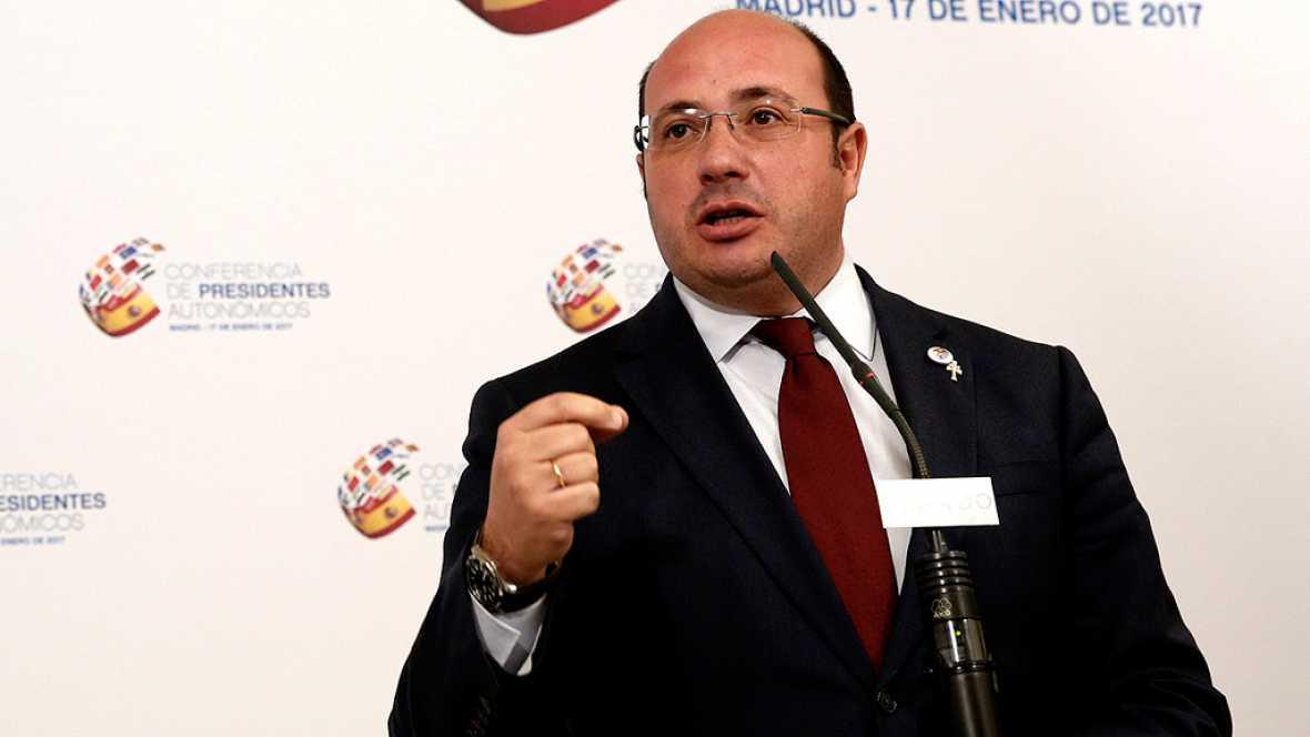 La oposición parlamentaria pide la dimisión del presidente de Murcia, Pedro Antonio Sánchez