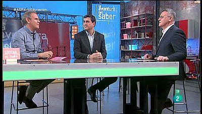 La Aventura del Saber. TVE. Javier Palop y Leo Farache.
