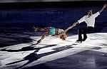 Exhibición para terminar el Europeo de patinaje