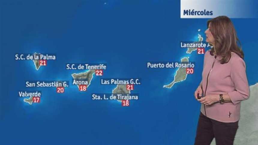 El tiempo en Canarias - 22/02/2017