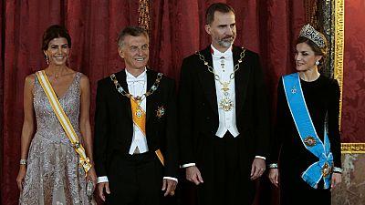 Mauricio Macri inicia su visita de Estado a España