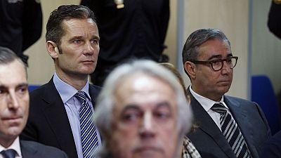 Urdangarin y Torres, citados en la Audiencia de Palma para saber si deben ingresar ya en prisión