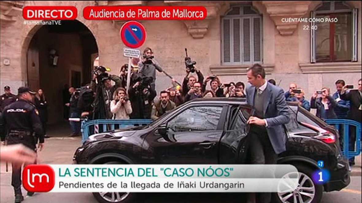 Prisión eludible con fianza de 200.000 euros para Urdangarin