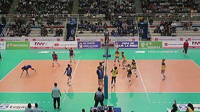 Voleibol - Copa de la Reina. Resumen - ver ahora
