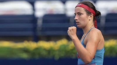 Tenis - WTA Torneo Dubai (Emiratos Árabes): A. Sevastova - Wang Q. - ver ahora