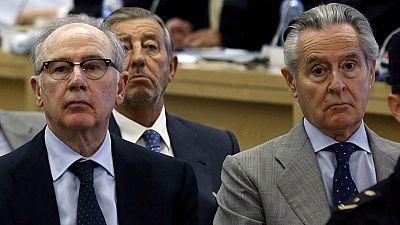 La Audiencia Nacional condena a Blesa a sesis años de cárcel y a Rato a cuatro y medio por las tarjetas opacas de Caja Madrid