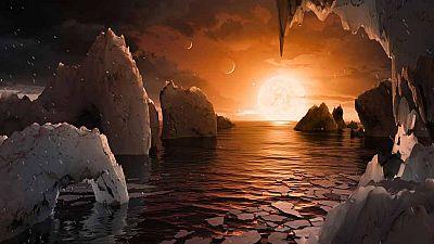 Los nuevos telescopios espaciales, clave en el descubrimiento del sistema planetario Trappsit-1