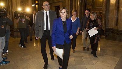 La Fiscalía de Cataluña presenta una nueva querella contra la presidenta del Parlament, Carme Forcadell