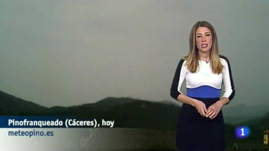El tiempo en Extremadura - 24/02/17