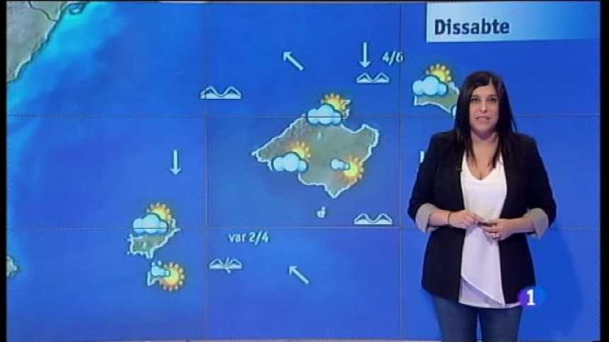 El temps a les Illes Balears - 24/02/17