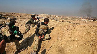 Las tropas iraquíes arrebatan el aeropuerto de Mosul al Estado Islámico