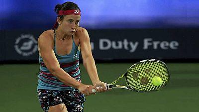 Tenis - WTA Torneo Dubai (Emiratos Árabes). 1ª semifinal: C. Wozniacki - A. Sevastova - ver ahora
