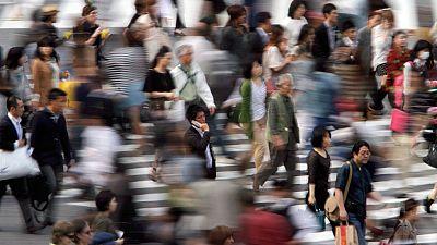Campaña del Gobierno nipón para que los japoneses salgan antes de trabajar el último viernes de cada mes