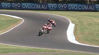 Motociclismo - Campeonato del mundo Superbike. WSBK 1ª carrera prueba Australia - ver ahora