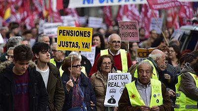 Las 'Marchas de la Dignidad' salen a la calle para reivindicar trabajo estable y pensiones dignas