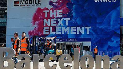 Barcelona se prepara para el inicio del MWC, la mayor feria de tecnología móvil