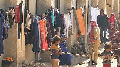 Así es la vida en el campo de desplazados de Yibrín (Siria)