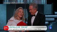 Grave error en la gala de los Oscar
