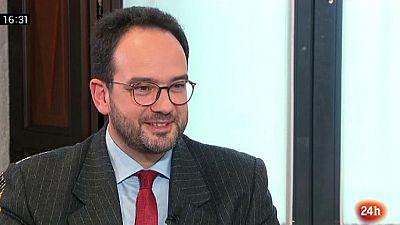 Parlamento - La entrevista - Antonio Hernando - 25/02/2017