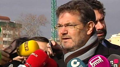 """Catalá dice que las declaraciones de Homs """"no tienen sentido"""" y obedecen a un """"interés particular"""" para no ser condenado"""