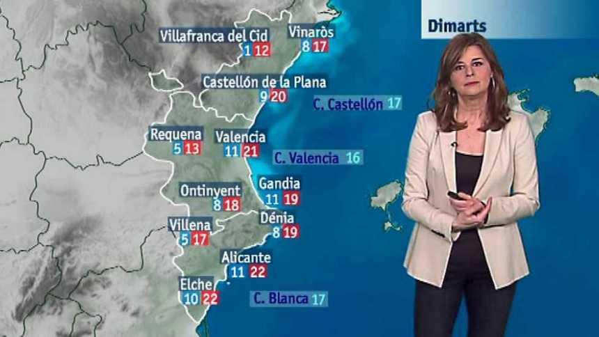 El tiempo en la Comunidad Valenciana - 27/02/17