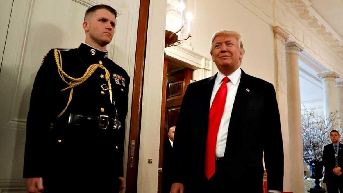 Trump plantea un gran aumento del gasto militar en sus primeros presupuestos al frente de la Casa Blanca
