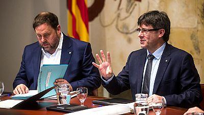 La oposición aplaza en el Parlament catalán una modificación exprés del reglamento para impulsar la independencia