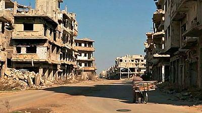 Homs, la cuna de la revolución siria, luce en ruinas seis años después