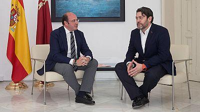 Cs retira su apoyo al PP en Murcia tras negarse Pedro Antonio Sánchez a dimitir