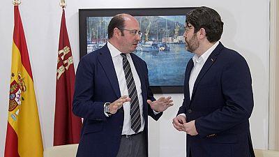 Ciudadanos retira su apoyo al PP de Murcia por negarse a dimitir Pedro Antonio Sánchez